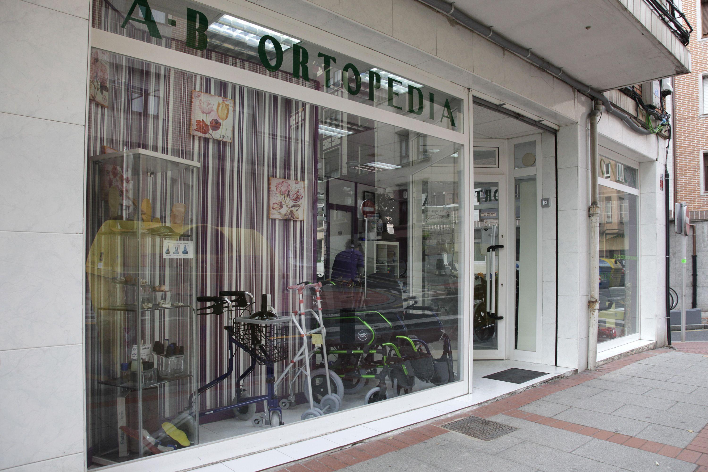 Exterior de nuestra ortopedia en Santurtzi