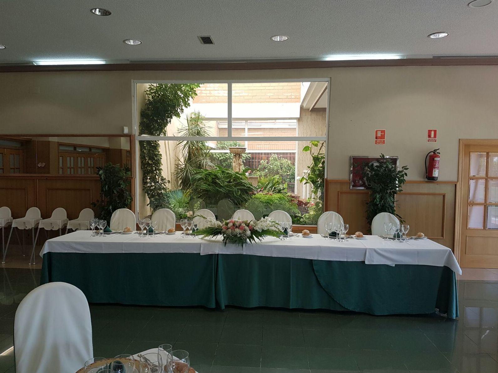 Restaurante bodas Mostoles
