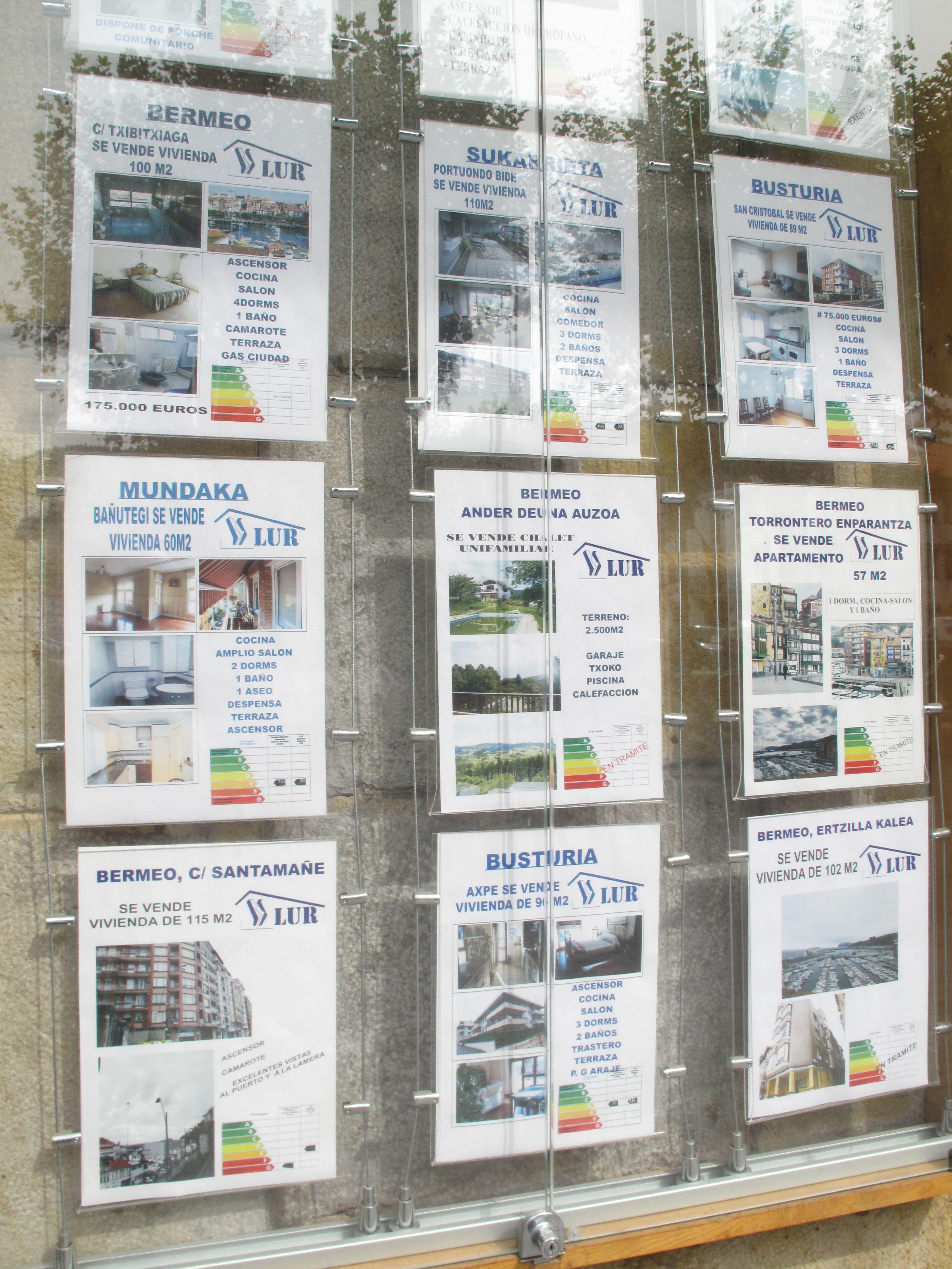 Listado de viviendas y/o pisos en venta o alquiler