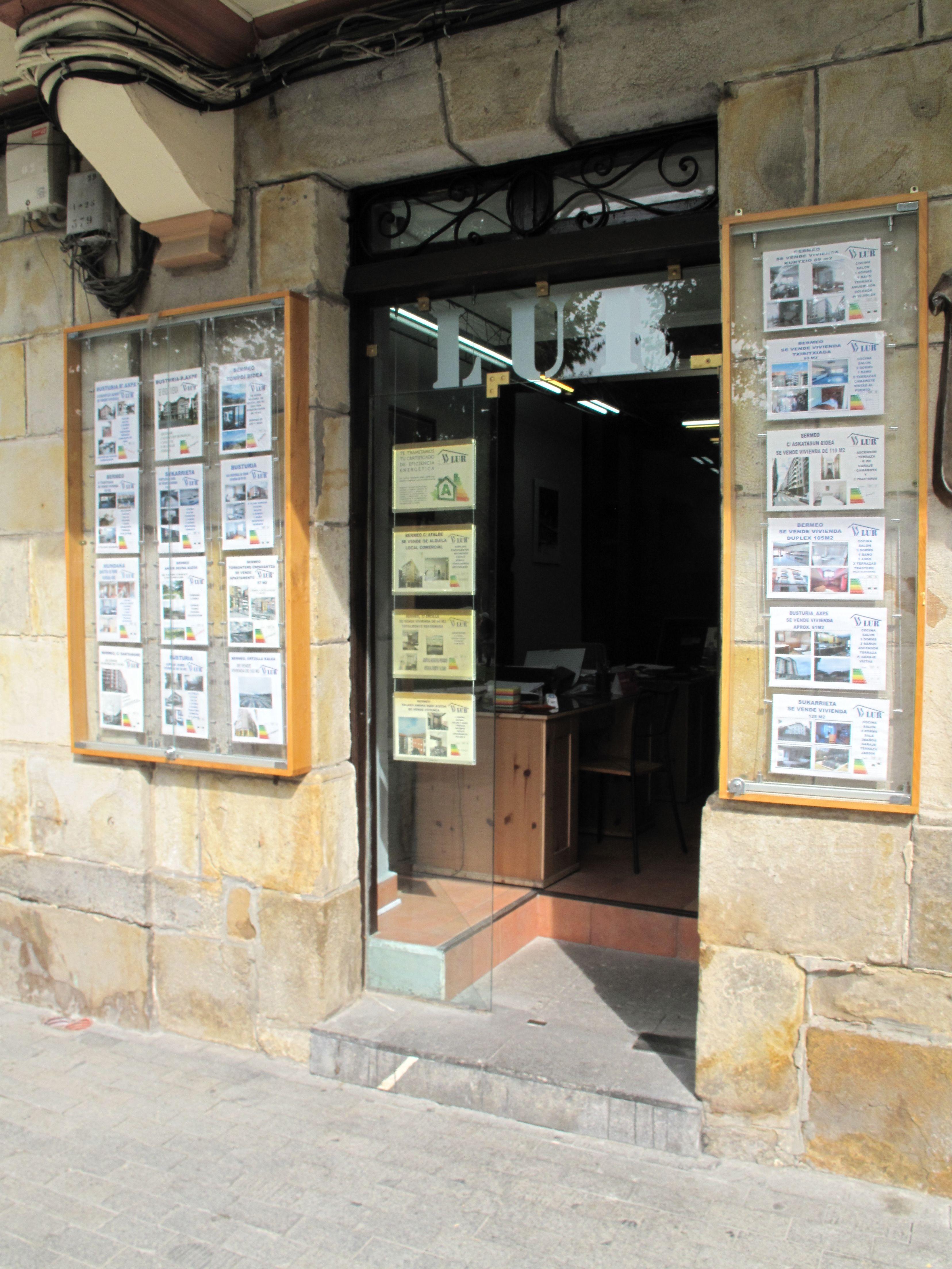 Listado de casas y pisos de alquiler