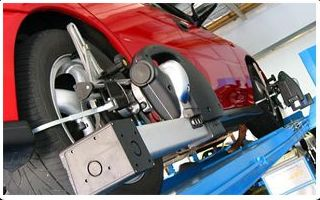 Equilibrado, paralelo y alineación de neumáticos