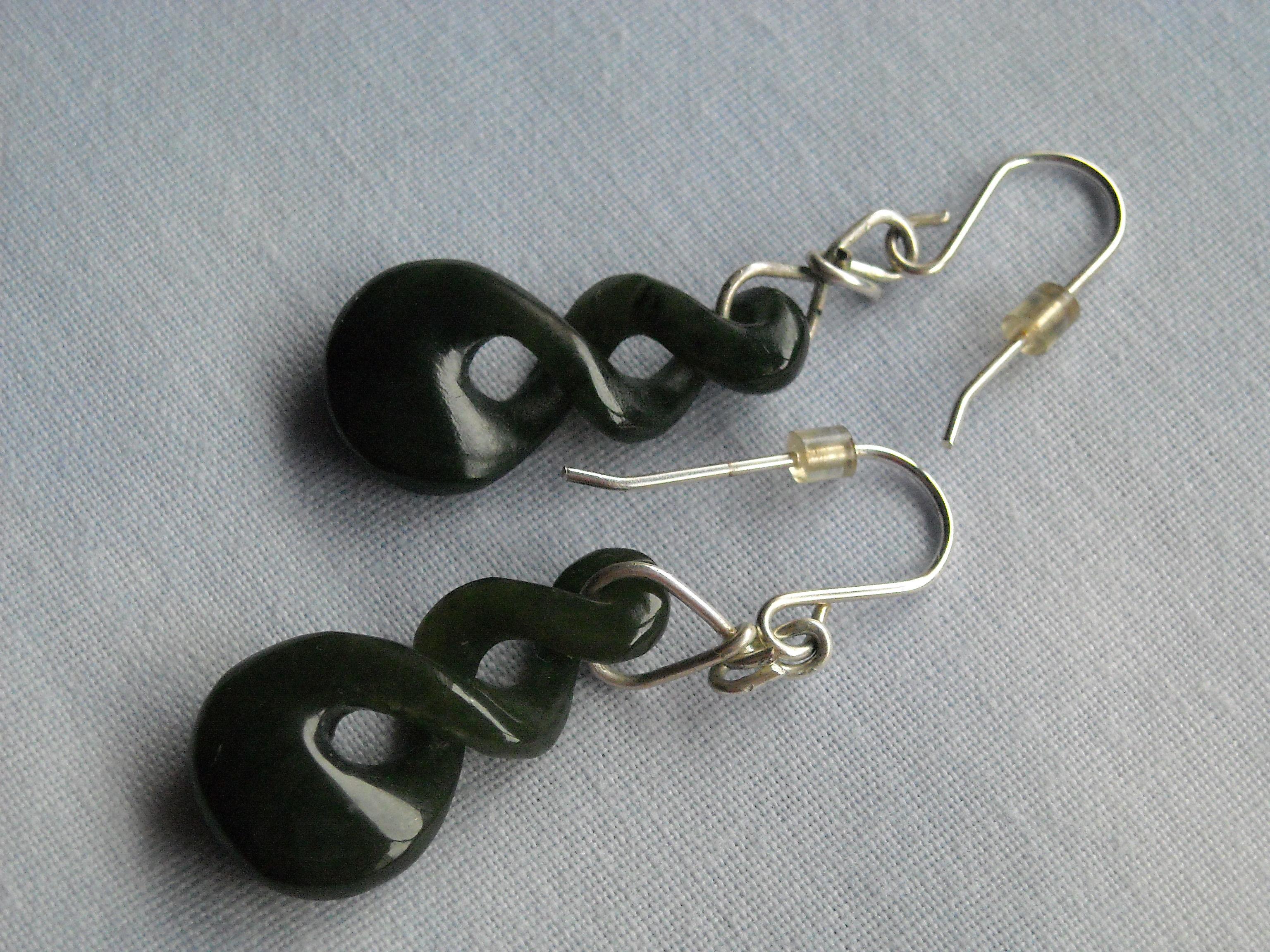 Jade de Birmania y plata