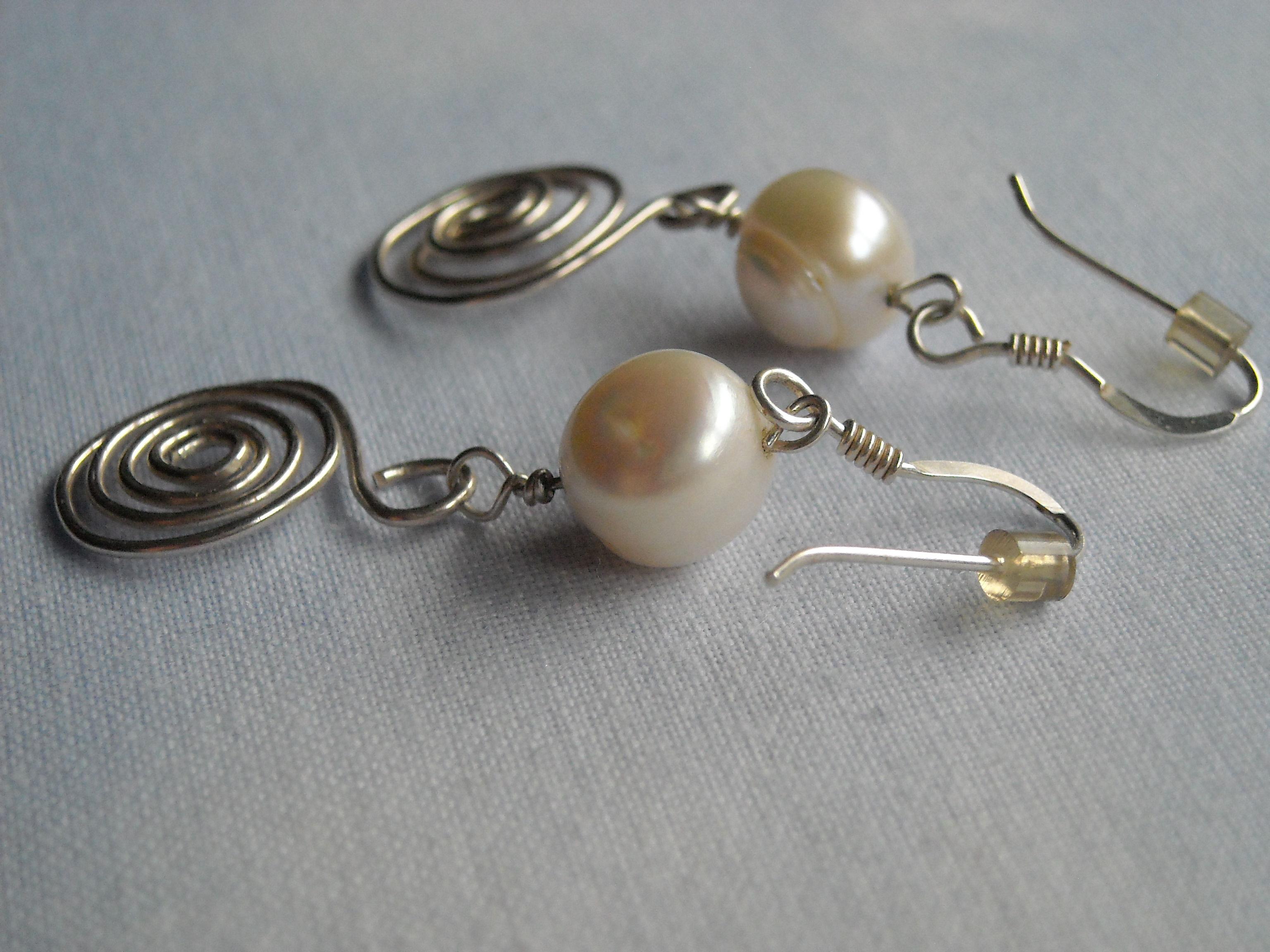 Perlas y plata