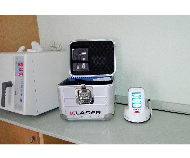 Tratamientos láser de podología y fisioterapia en Castellón