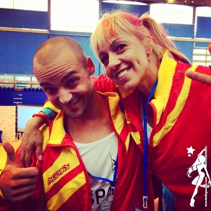Denis Terrones y Patricia  Roqueta