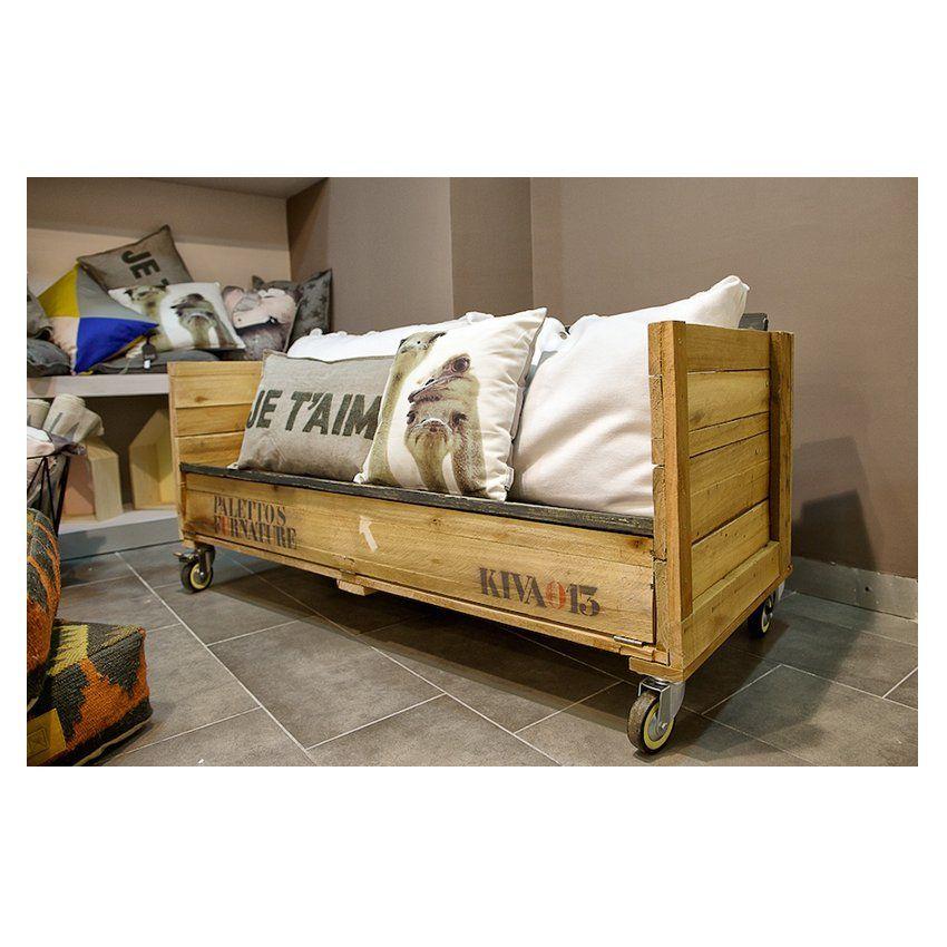 PFF. 029 · Banco Omode: Muebles de Paletto´s Furnature