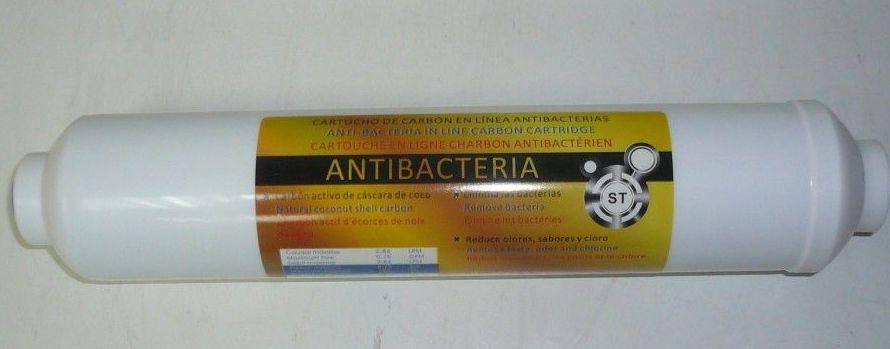 POSFILTRO ANTIBACTERIAS: Productos de Saneamientos Sánchez Caravaca