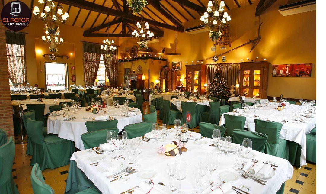 Salones privadoes en nuestro restaurante