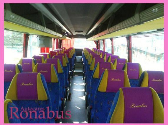 Foto 2 de Autocares en Algete | Autocares Ronabús