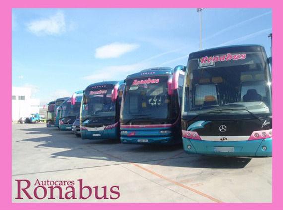 Foto 4 de Autocares en Algete | Autocares Ronabús