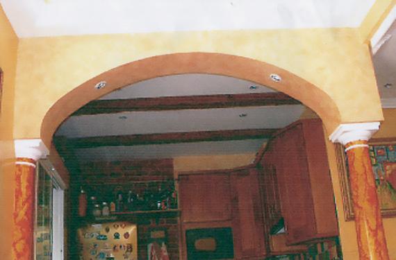 ARCO CARPANEL Y COLUMNAS