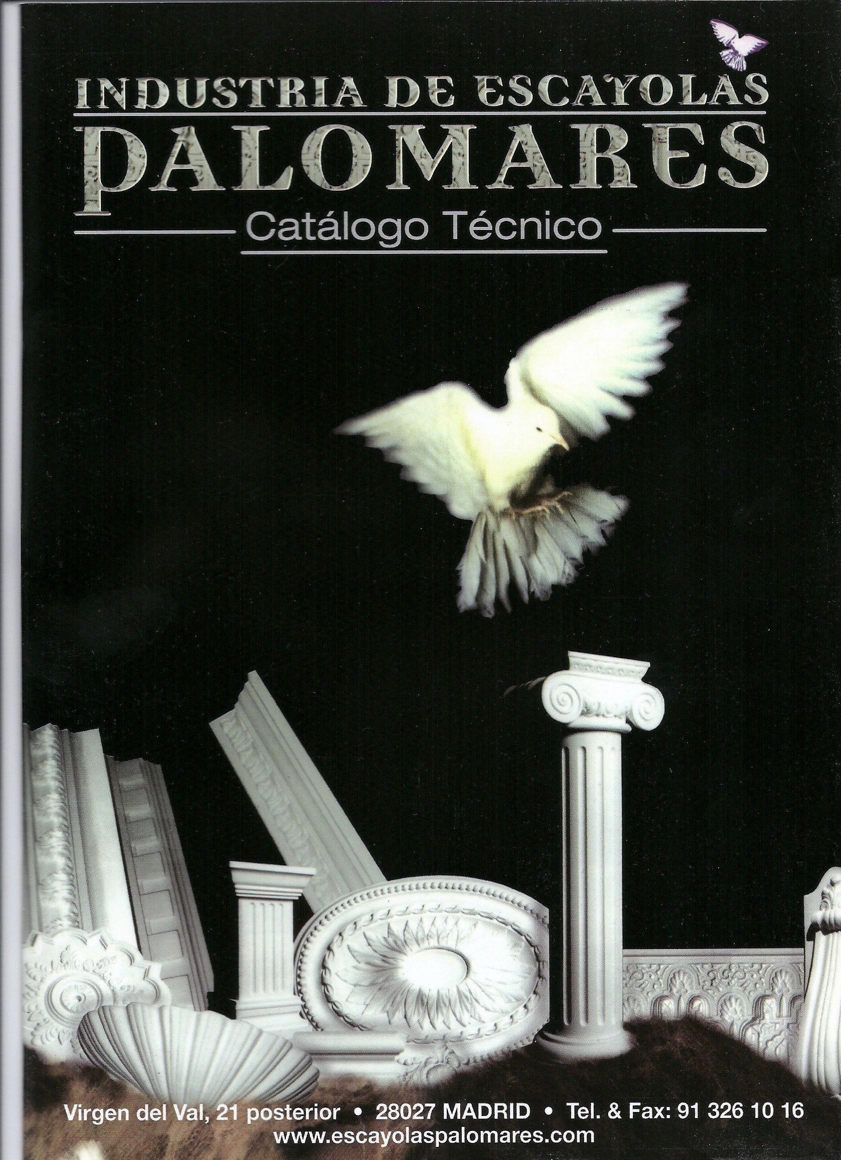 PORTADA CATALOGO DE PRODUCTOS I.ESCAYOLAS PALOMARES