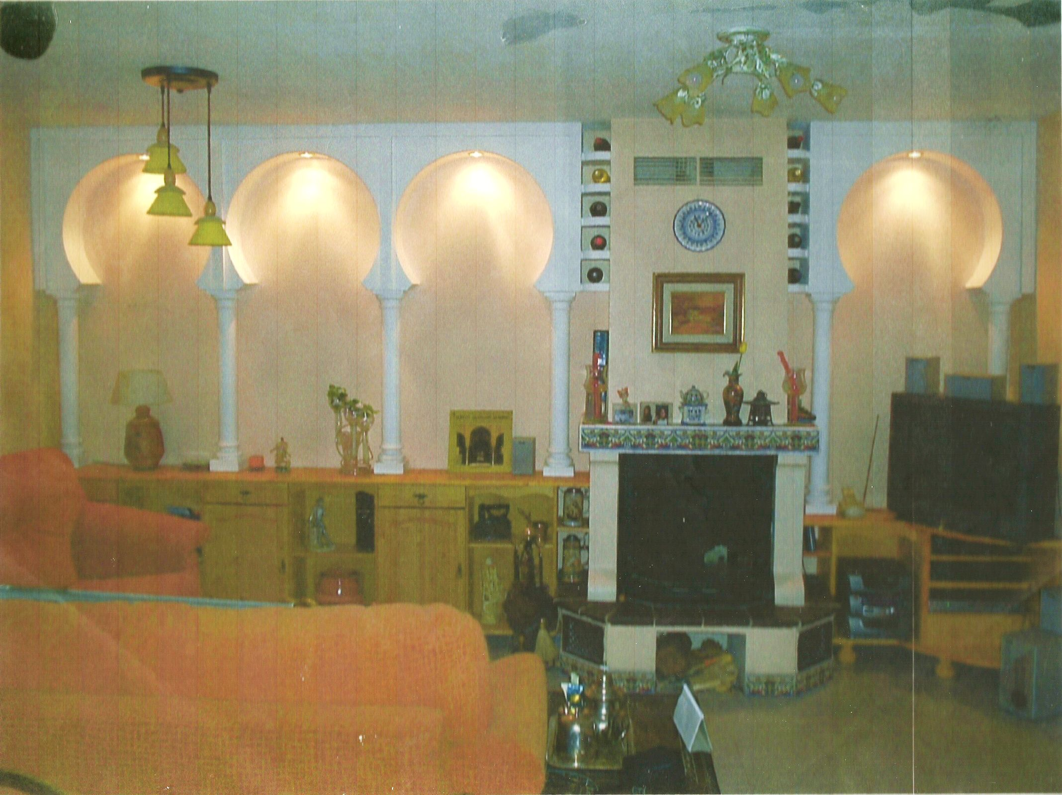 arcos de estilo arabe