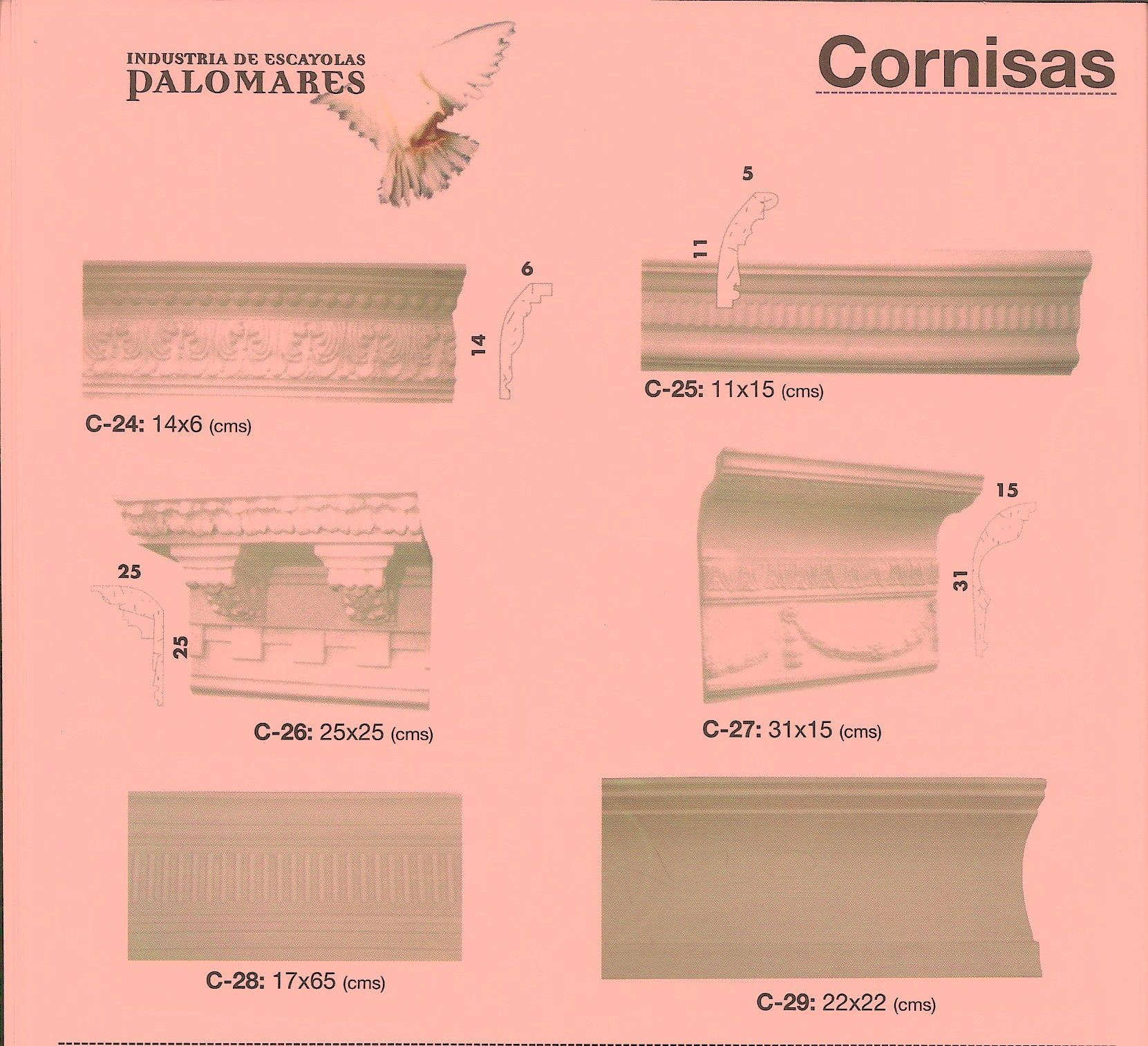 CORNISAS CATALOGO