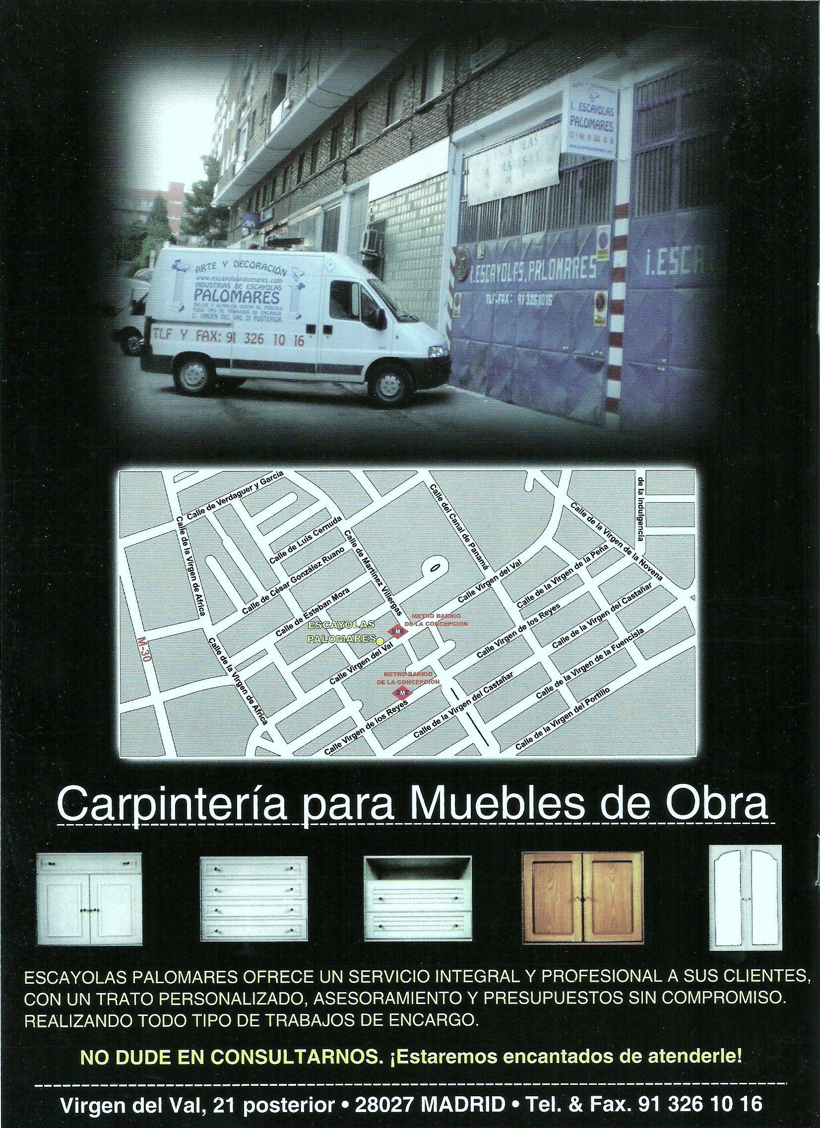 Foto 56 de Escayolas en Madrid | I. De Escayolas Palomares