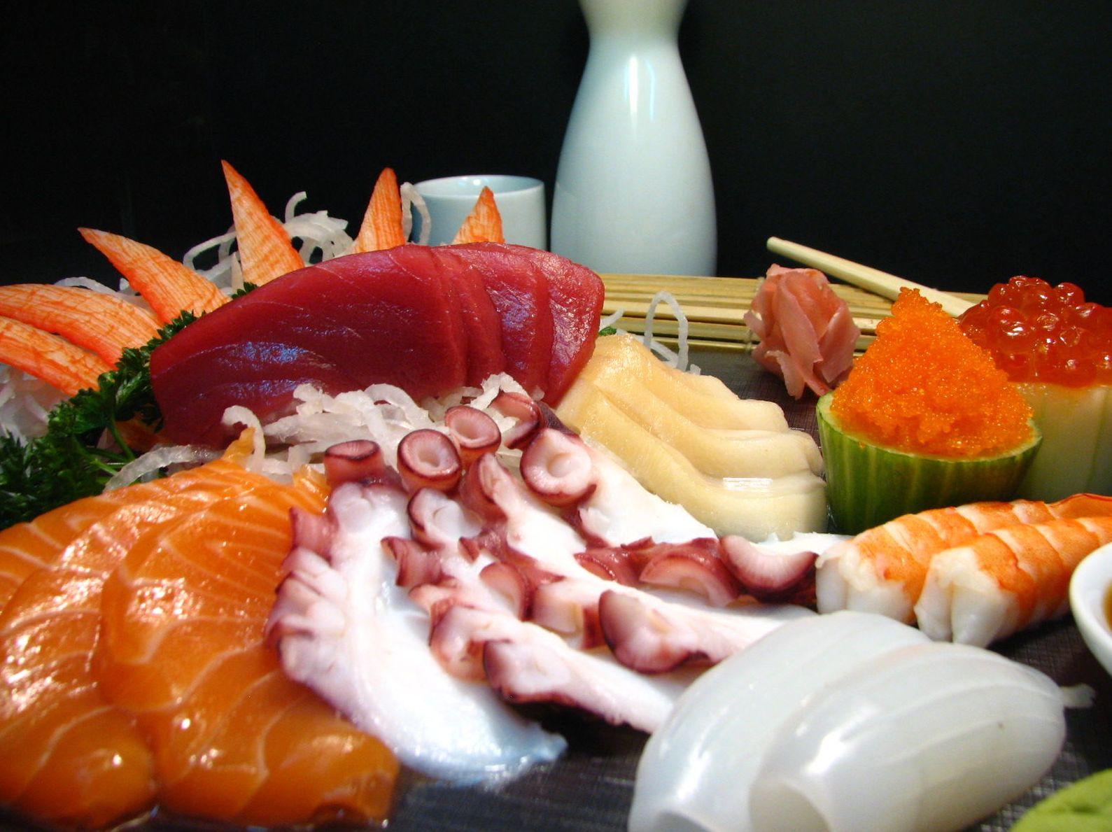 Sashimi lujo