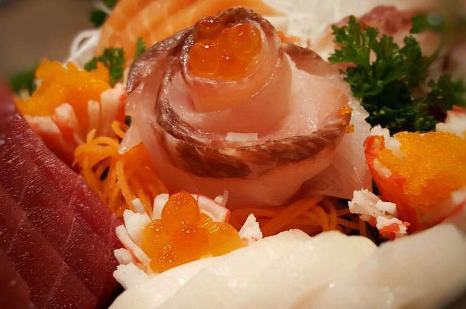 Sashimi de lujo