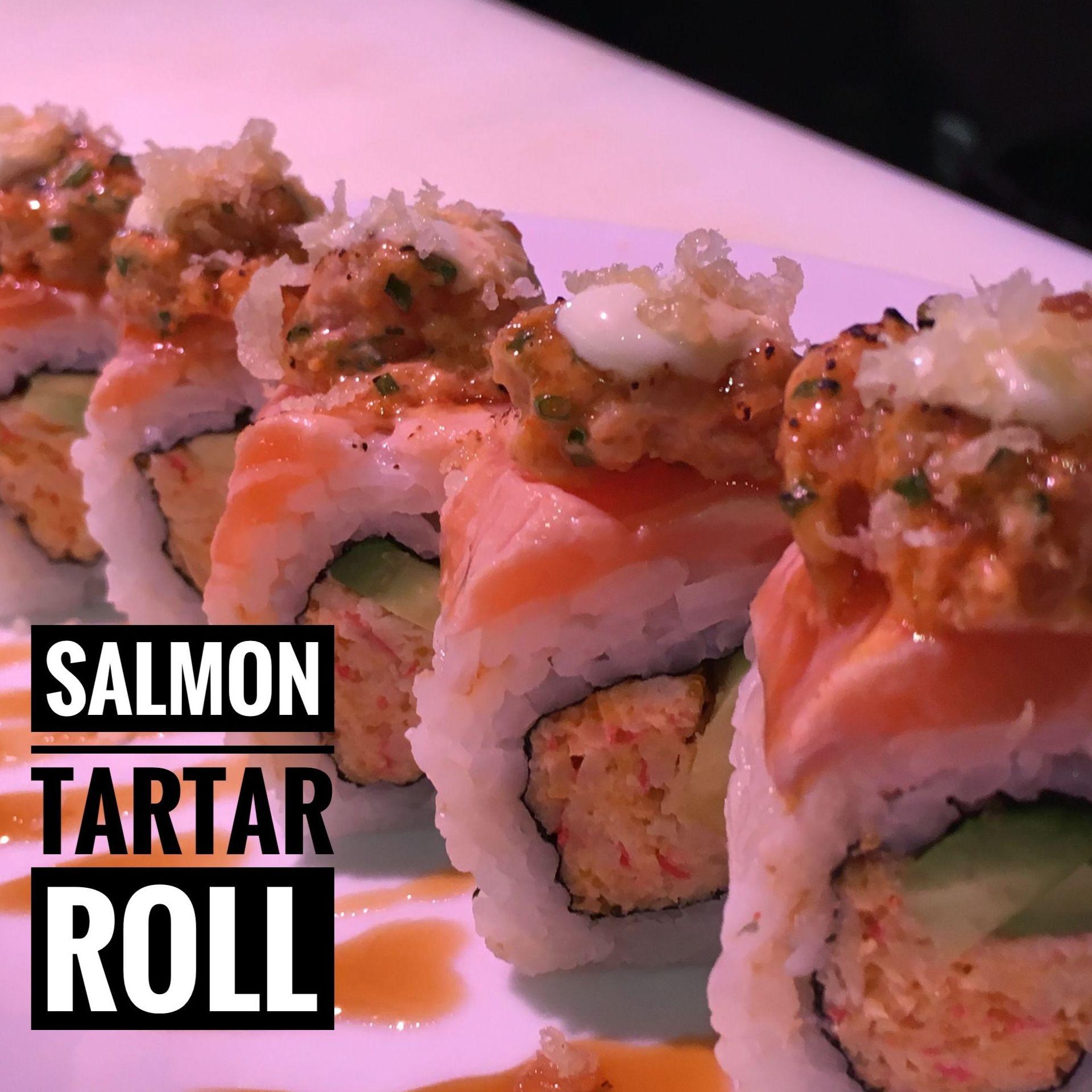 Salmón Tartar Roll