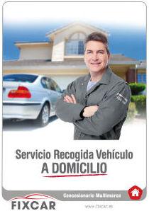 Recogemos tu vehículo a domicilio para el taller