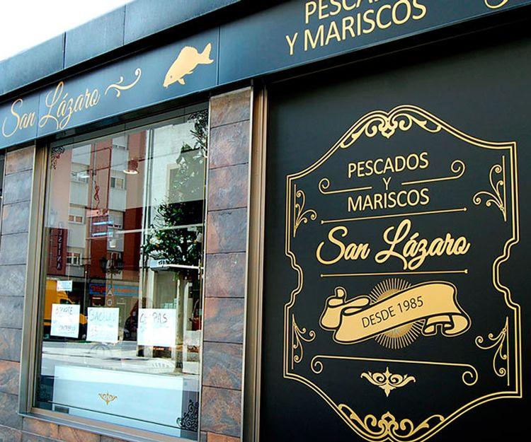 Rótulos comerciales en Oviedo