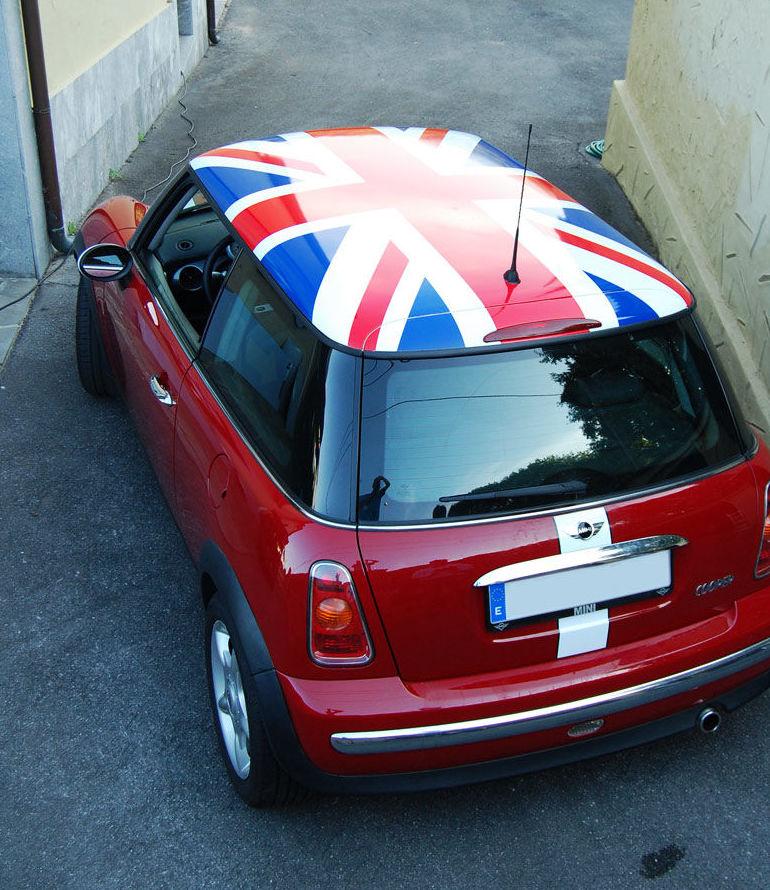 Union Jack para mini 3M serie 50
