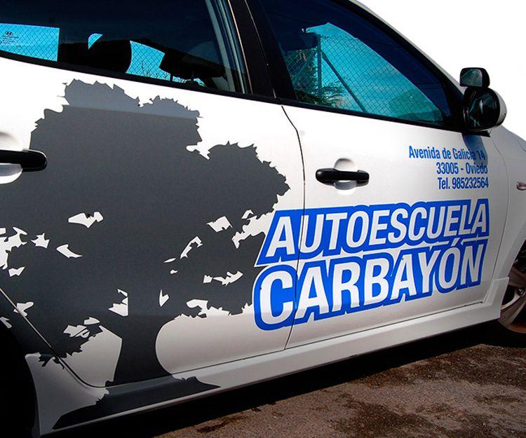 Empresa especialista en rotulación de vehículos en Oviedo