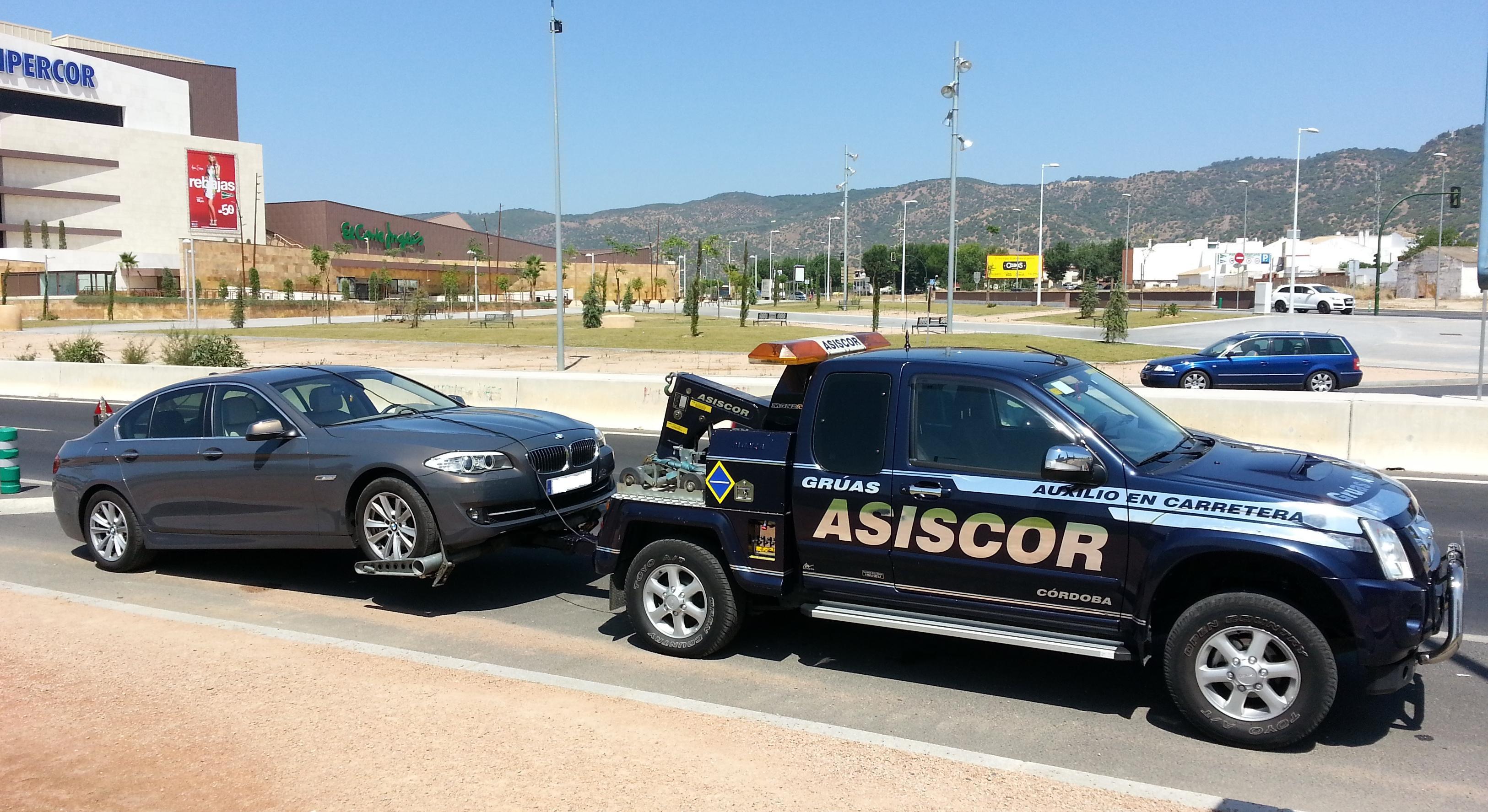 Foto 11 de Grúas para vehículos en Córdoba | Grúas Asiscor
