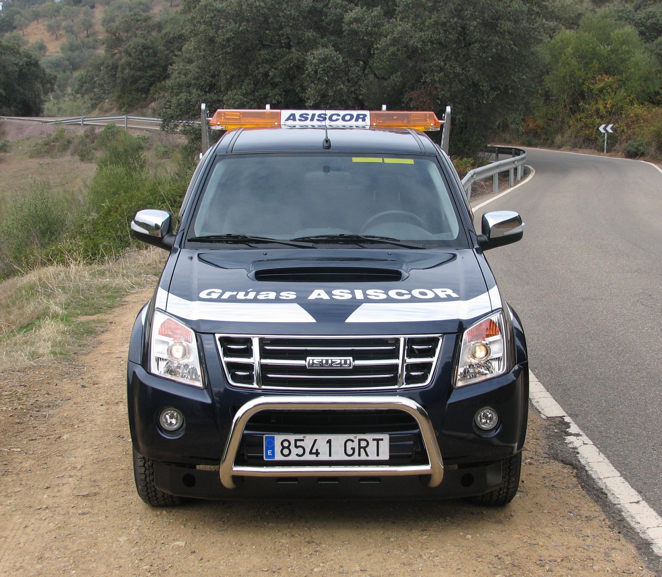 Grúa especial parking para vehículos automáticos bloqueados y vehículos cerrados