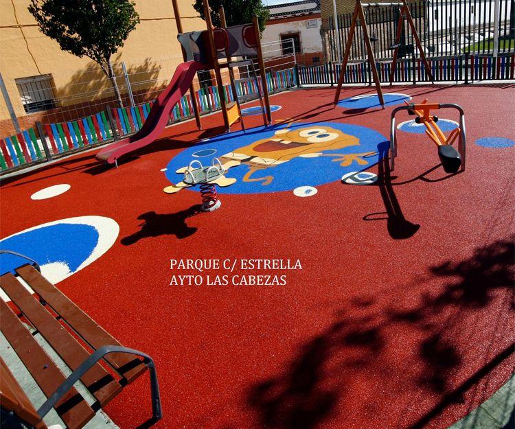 Pavimentos de caucho en Granada