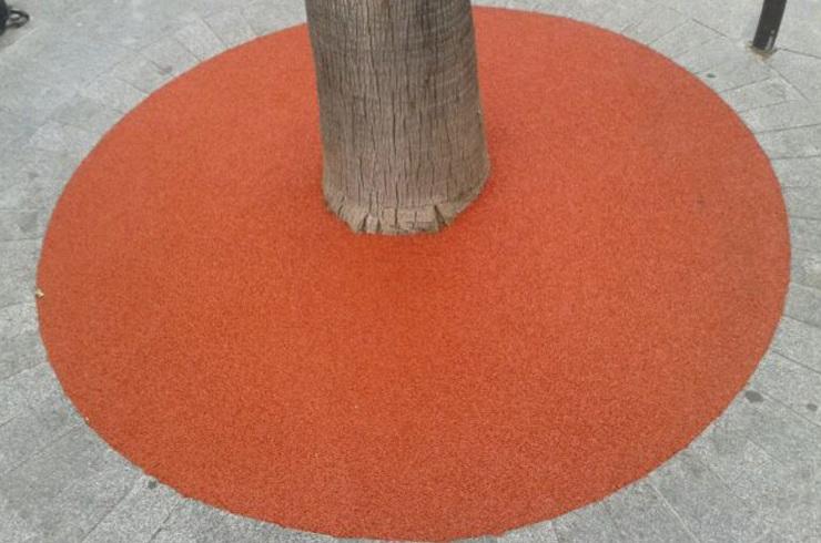 Alcorque de corcho (Elimina Barreras arquitectonicas)