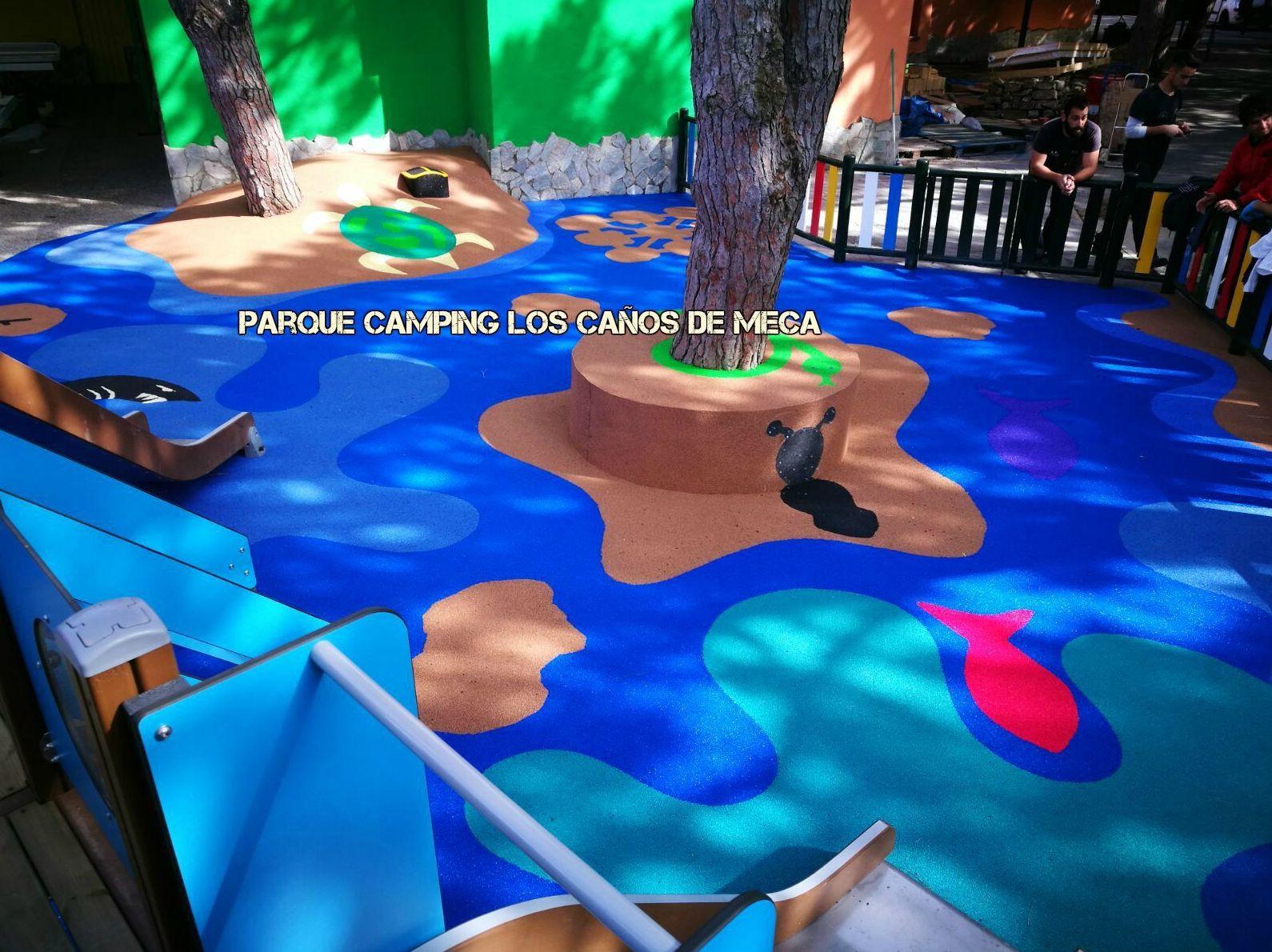 Foto 52 de Instalación de pavimentos de caucho para parques infantiles en Las Cabezas de San Juan | Pavimentos Garvel