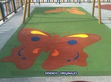 Foto 49 de Instalación de pavimentos de caucho para parques infantiles en Las Cabezas de San Juan | Pavimentos Garvel