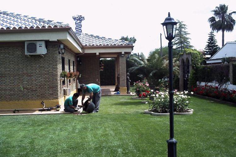 Trabajos de jardinería en Málaga