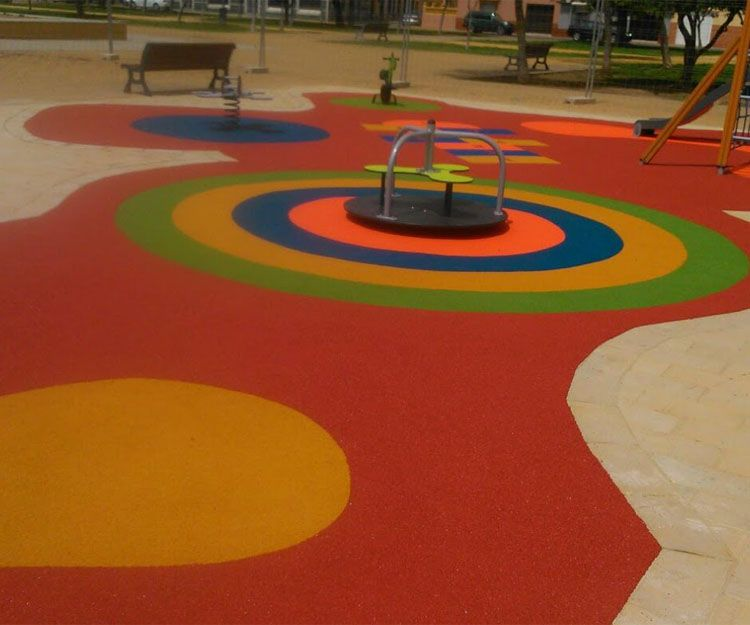 Foto 47 de Instalación de pavimentos de caucho para parques infantiles en Las Cabezas de San Juan | Pavimentos Garvel