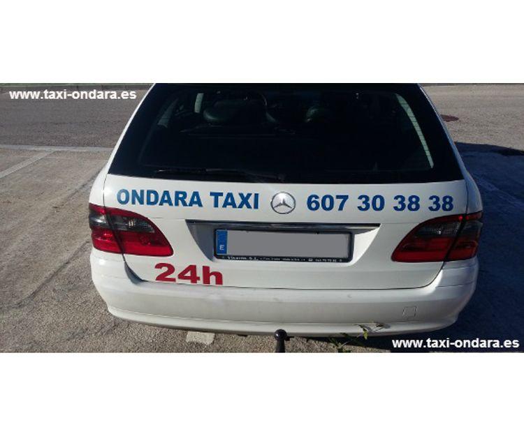 Taxi 24 horas en Ondara