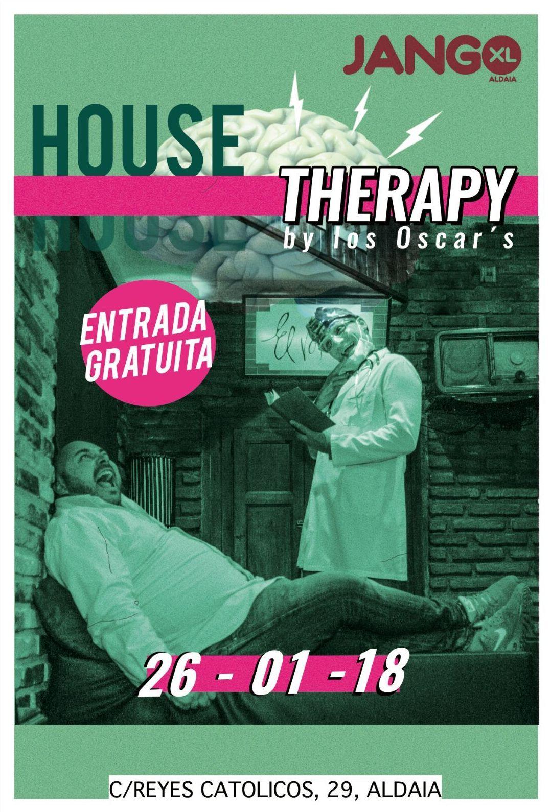HOUSE TERAPY 26 DE ENERO