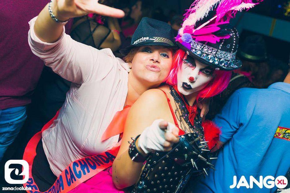 Fiestas remember y temáticas en Jango XL, Aldaia