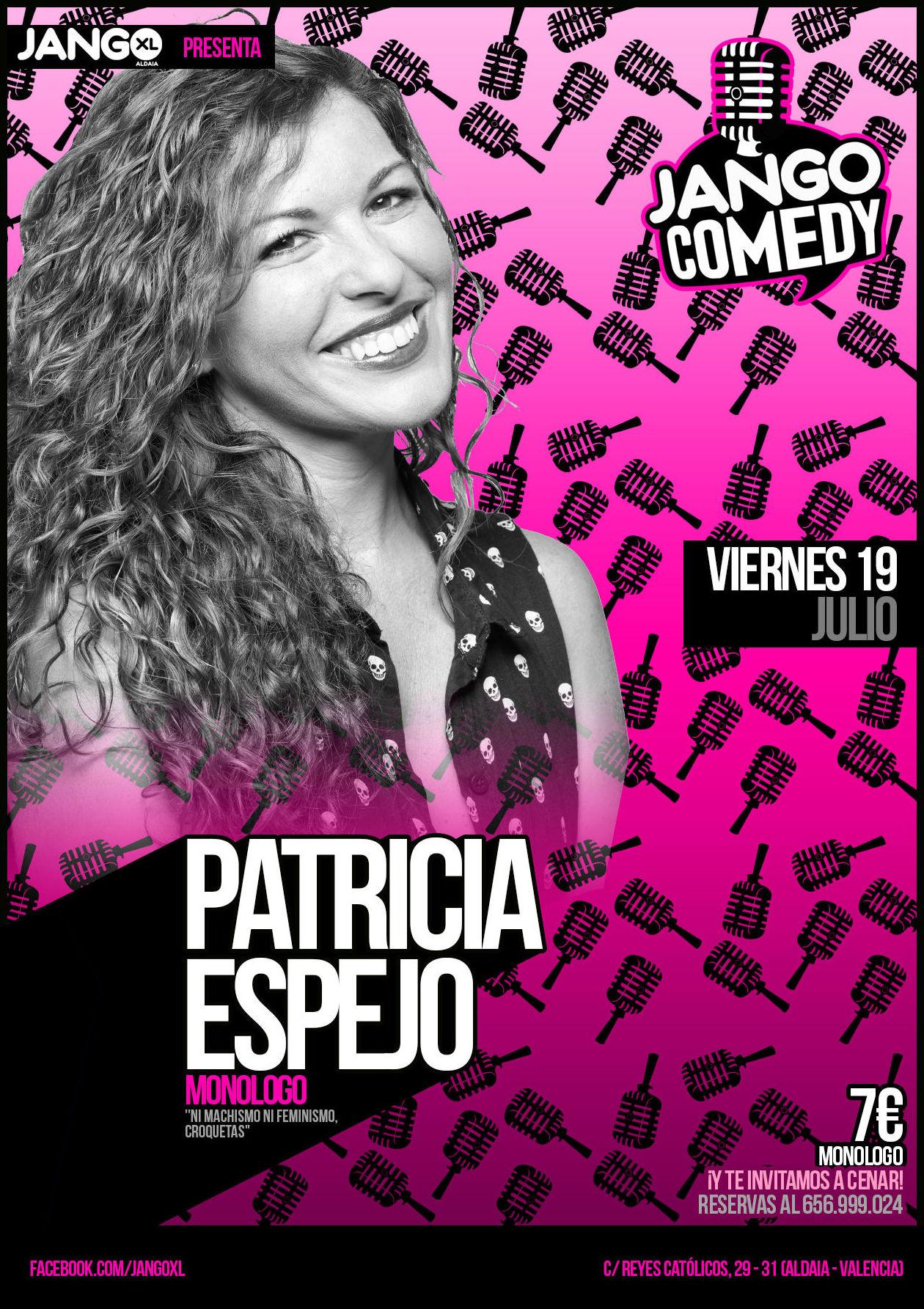 Jango Comedy presenta a Patricia Espejo