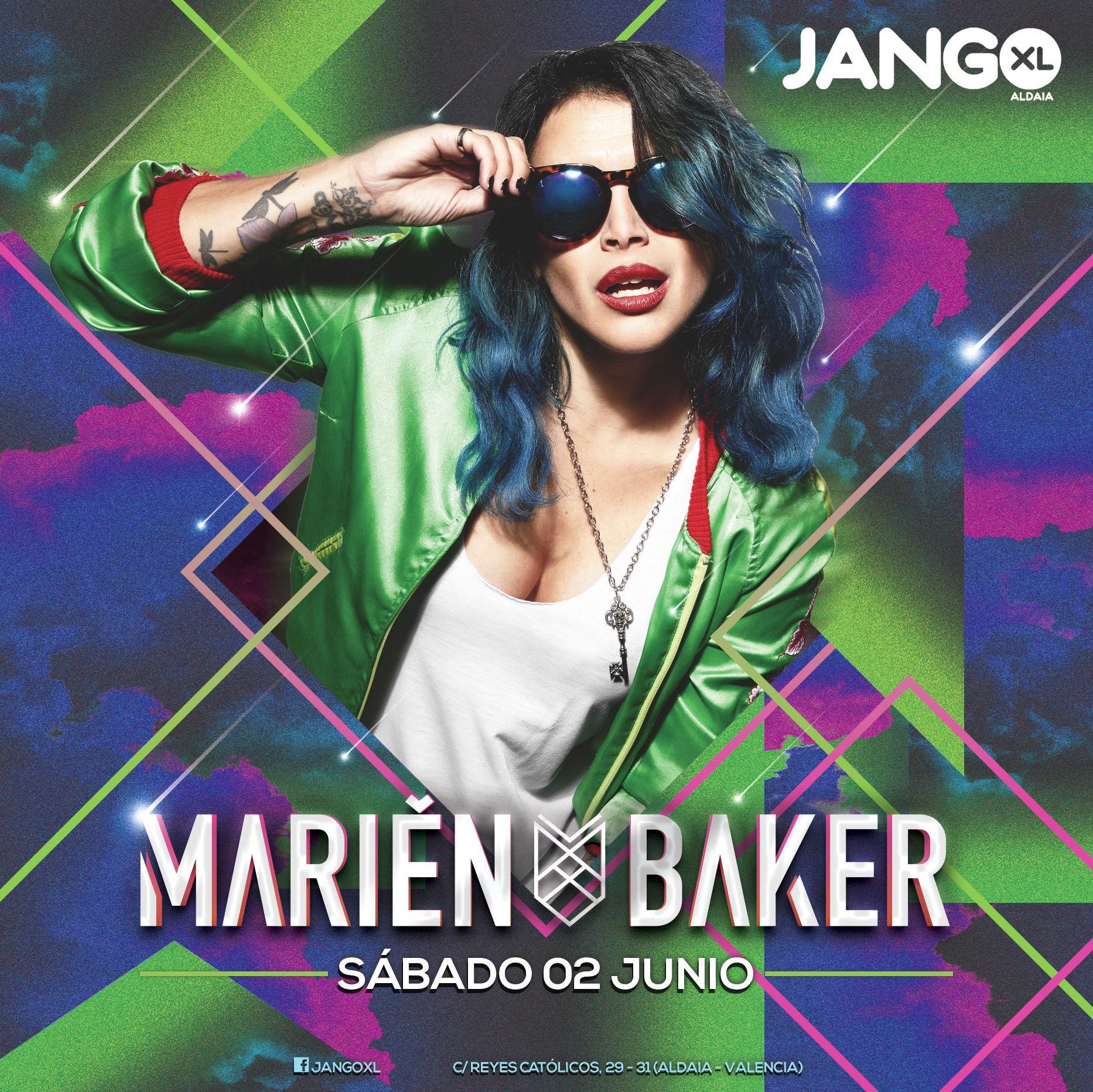 MARIEN BAKER en Jango XL 2 de junio