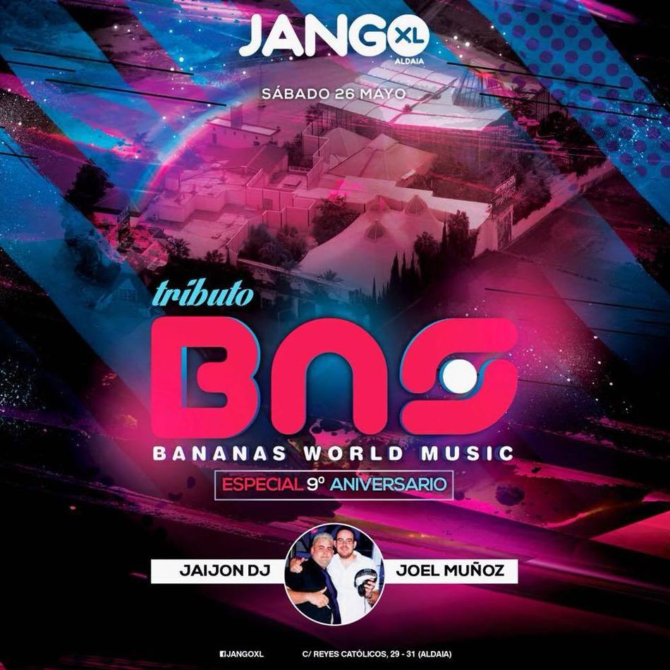 ¡BANANAS WORLD MUSIC en JANGO XL!