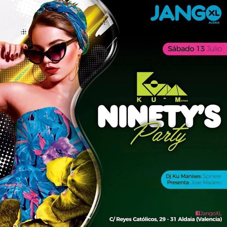 ¡NINETY'S Party en Jango XL!