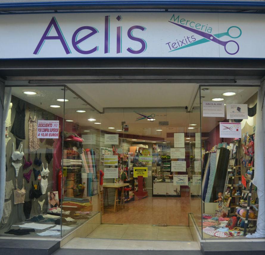 Foto 3 de Lencería y ropa interior en Santa Coloma de Gramenet | Aelis Mercería y Tejidos