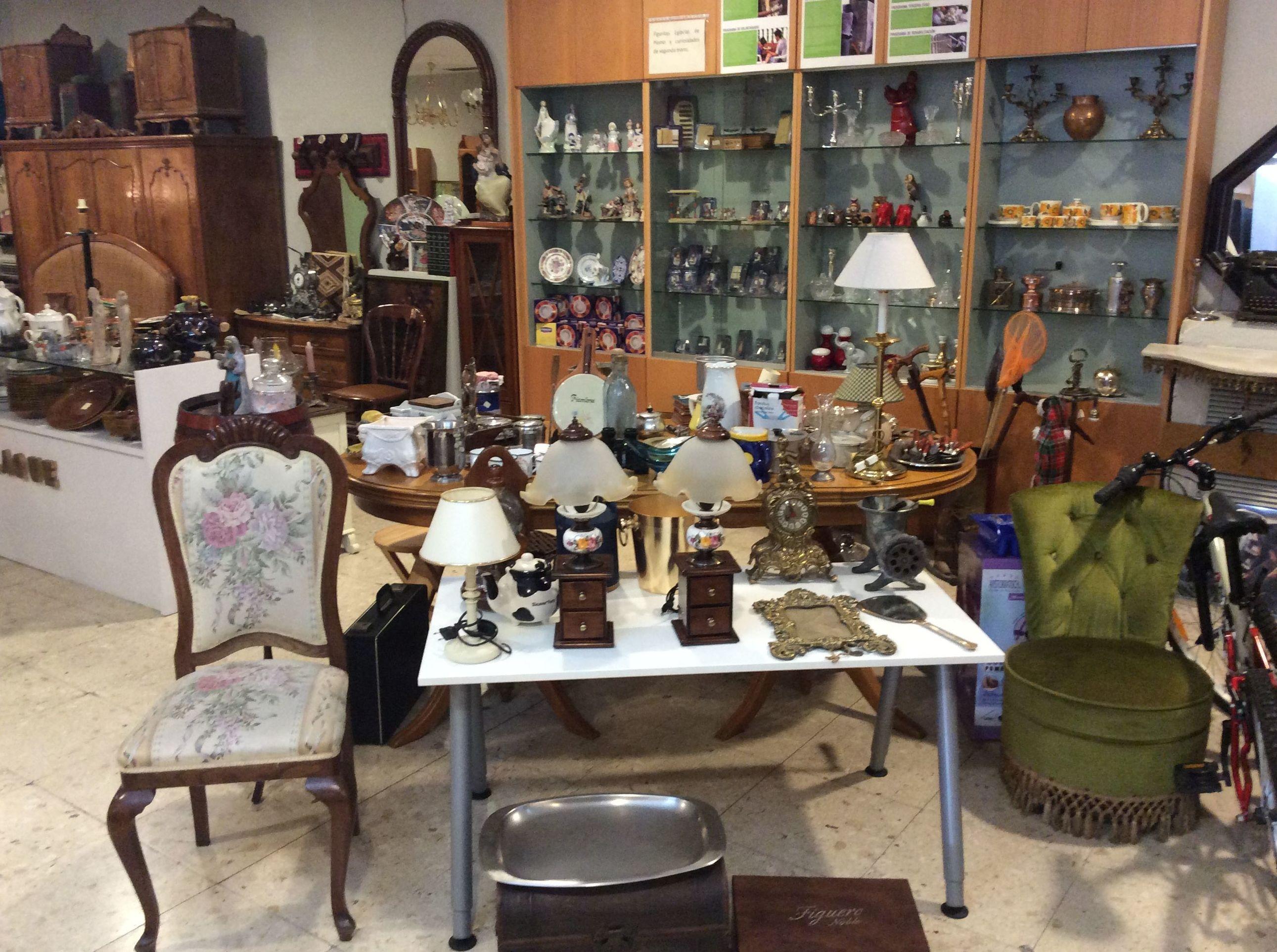 Gran variedad en objetos y Antigüedad