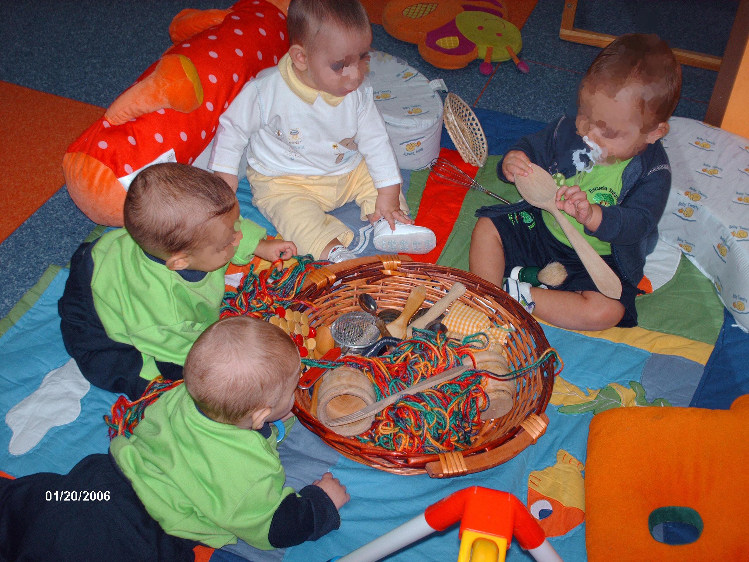 Rincón de juegos: Servicios y actividades de Acacias Escuela Infantil