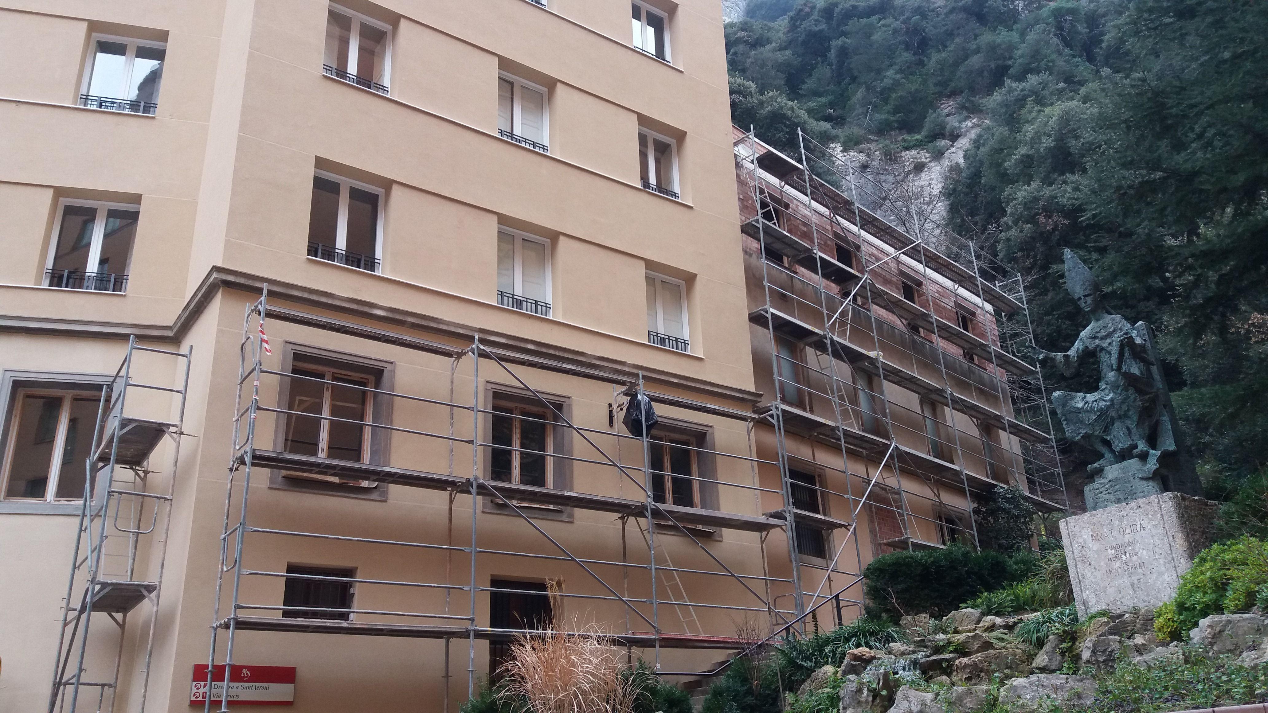 Rehabilitación de fachadas en Manresa