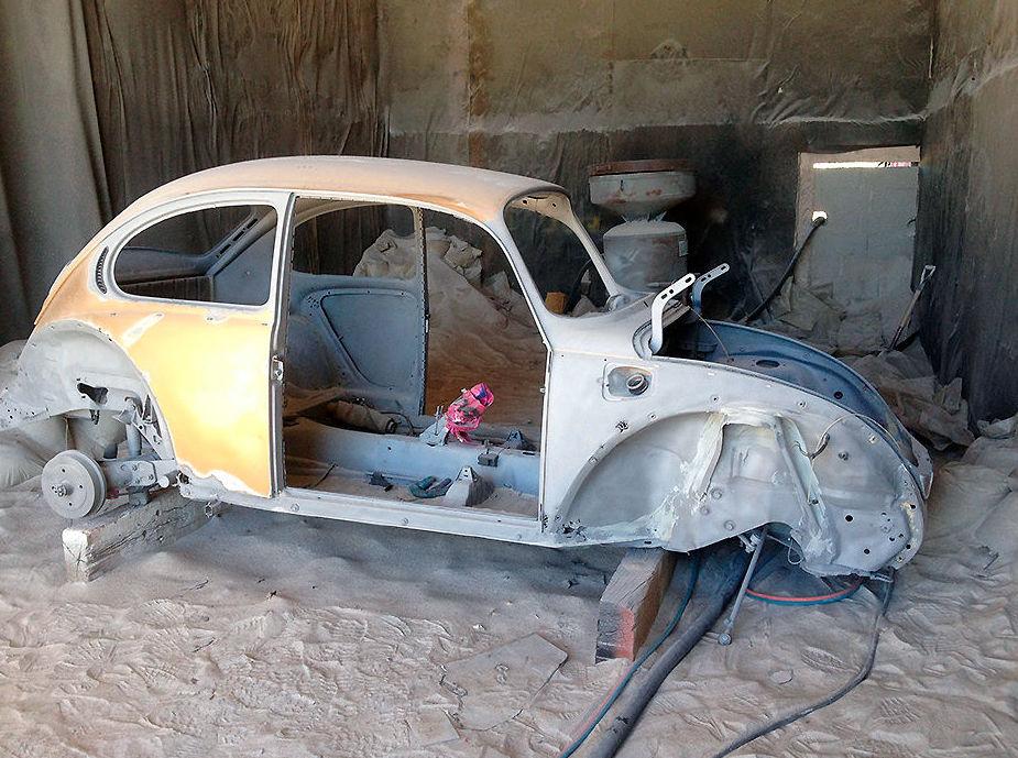 Restauración de vehículos