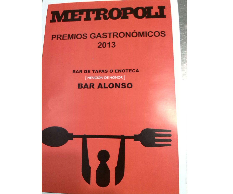 Bar de tapas con premios gastronómicos