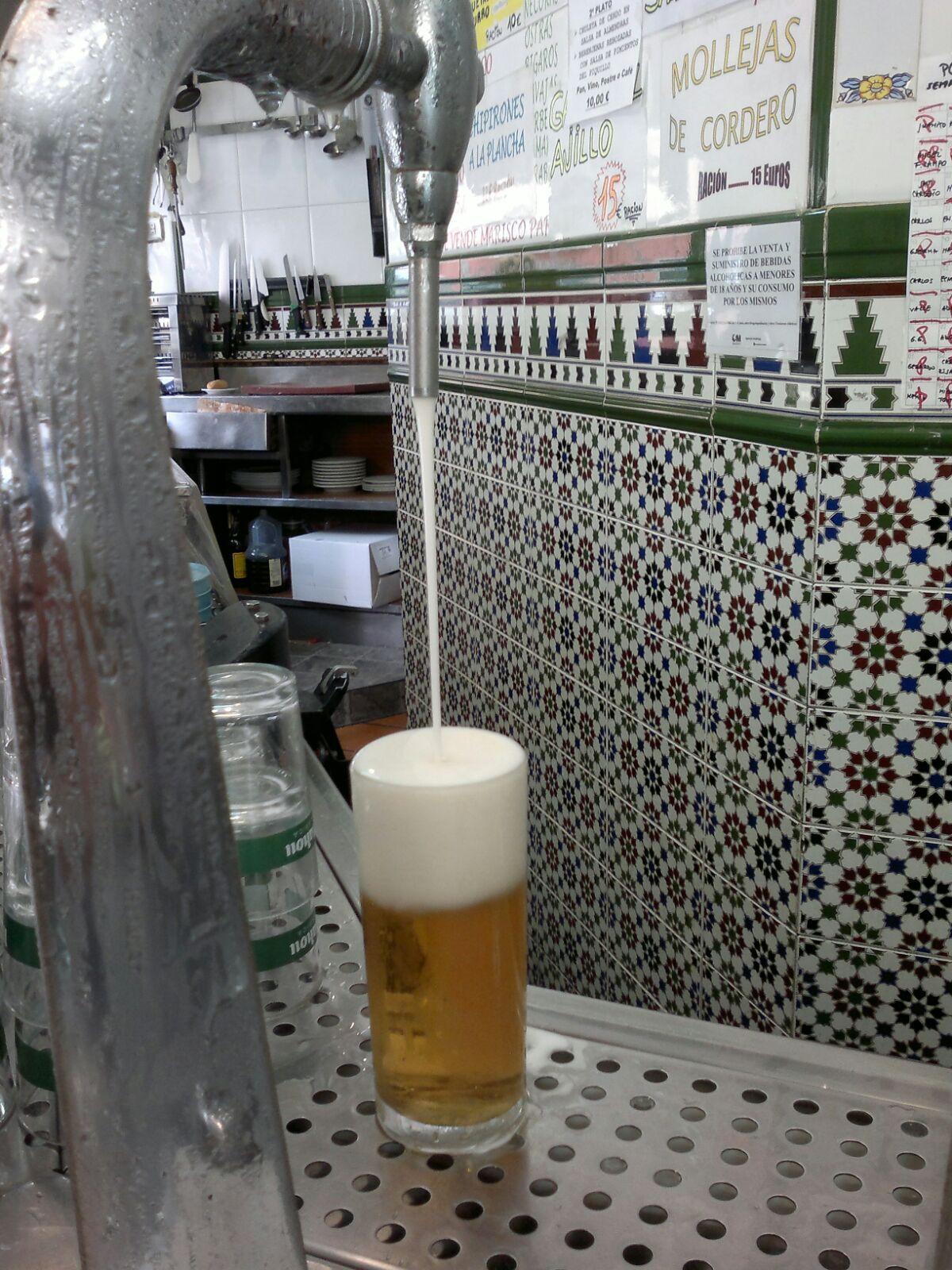 Cervecería Alonso. La mejor cerveza de grifo: Especialidades of Bar Cervecería Alonso