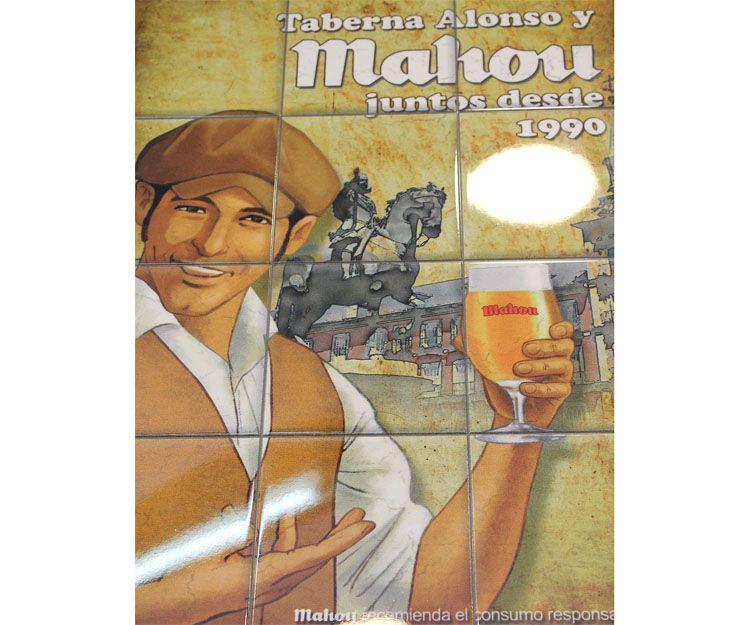 Bar cervecería Alonso en Prosperidad, Madrid