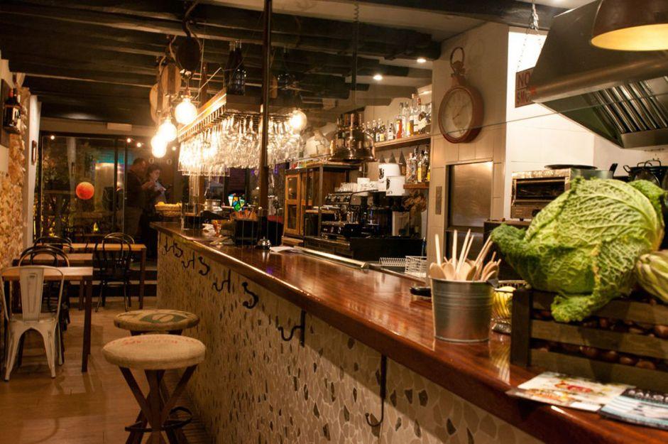 Restaurante de cocina de mercado en Sitges